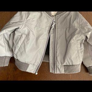 Grey toddler jacket